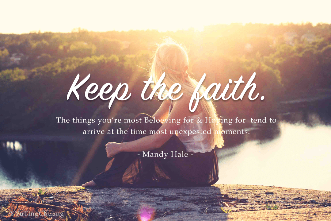 keepfaith|yutingchuang,designjoey