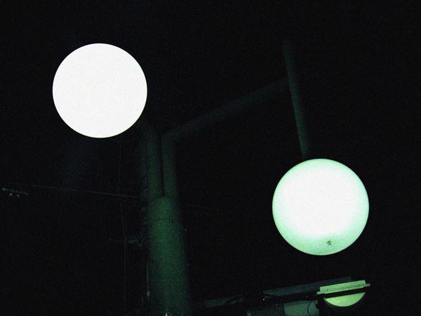 丸いライト4