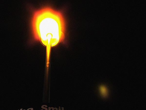 秋葉原の街灯