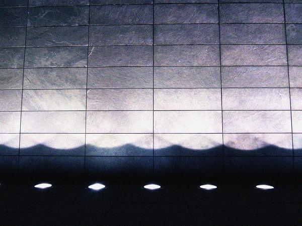 波状の灯り