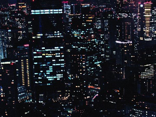 六本木ヒルズからの夜景