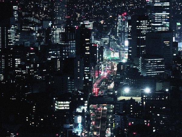 六本木ヒルズからの夜景12