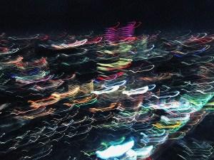 揺れる六本木ヒルズからの夜景4