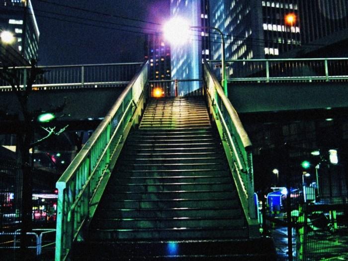 六本木の歩道橋3