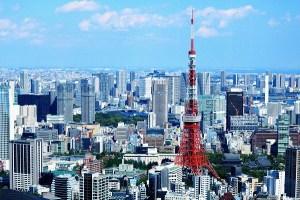 六本木ヒルズの東京タワー