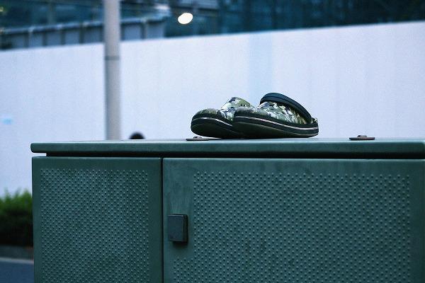 置き忘れ靴