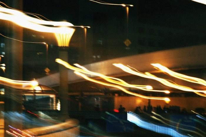 歩道橋のライト3