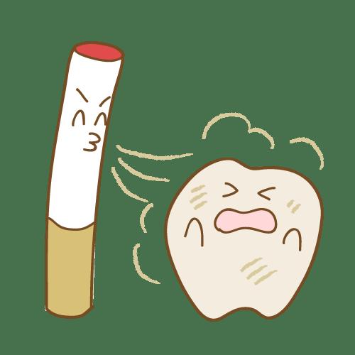 煙草のヤニ
