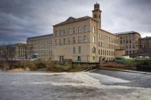 Factory by water - Shutterstock