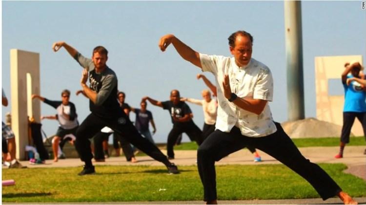 Άλλες δραστηριότητες - Υπαίθρια εξάσκηση στο Τάϊτσι