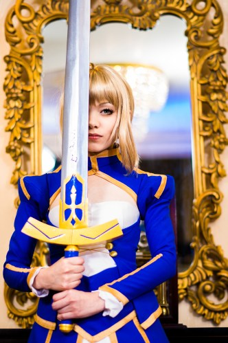 """The weight of my sword is the weight of my pride. The wound from my battle with you is an honor, not a fetter."" – Saber (Fate/Zero)"