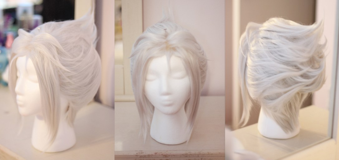 Periwinkle wig