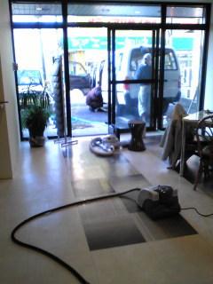 事務所も大掃除