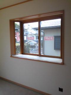 施工前の出窓