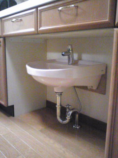 手洗器設置…