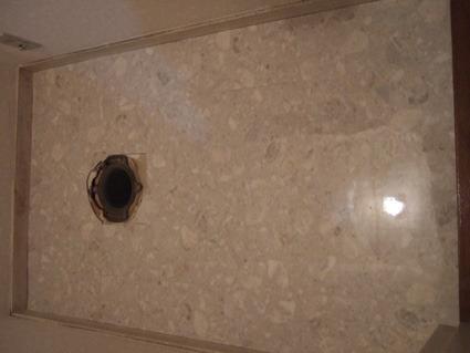 トイレの床にサンゲツフロアタイル