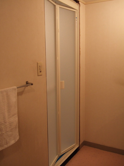 すっきりドアはパッキンがありません