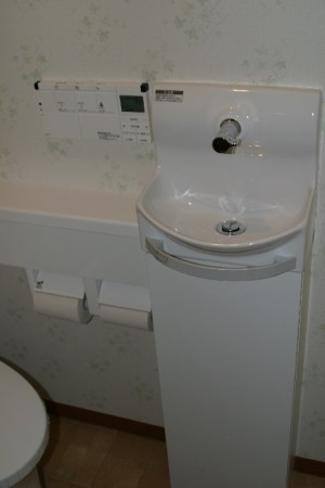 手洗器もイナックス
