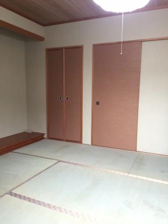和室改修京間の畳表替え