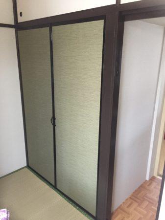 引き戸の押し入れを改修