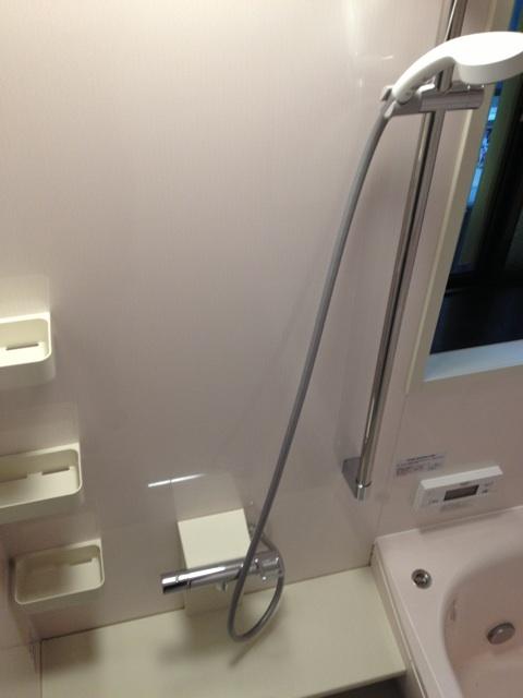 節水型シャワースライドバー