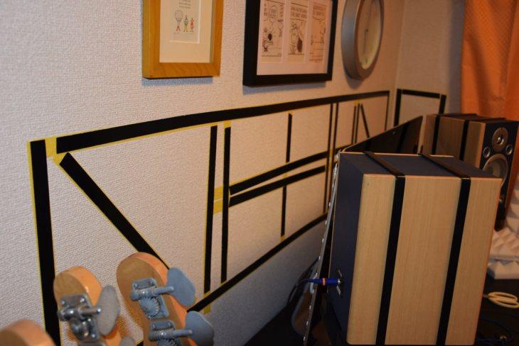 吸音材を壁に貼る最も効果的な方法は?