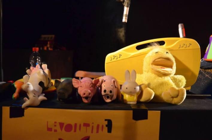 צעצועים מוזיקלים, לבונטין7. צילום: יובל אראל