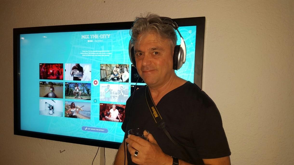 הבלוג מבקר במיקס דה סיטי במוזיאון. צילום: אינסטגרם