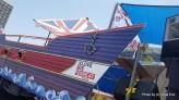 משאית הגאווה של שגרירות בריטניה. צילום: יובל אראל