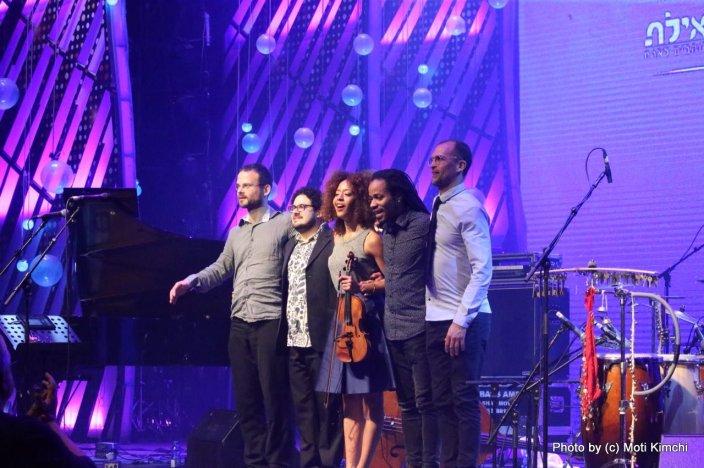 Yiian Canizares Quintet. צילום: מוטי קמחי