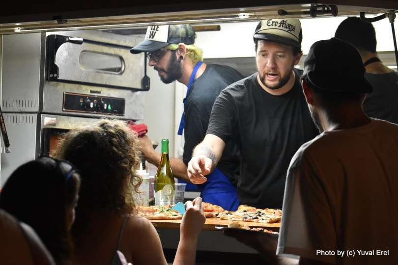 Gettin' Baked Hip Hop & Pizza Fest צילום יובל אראל