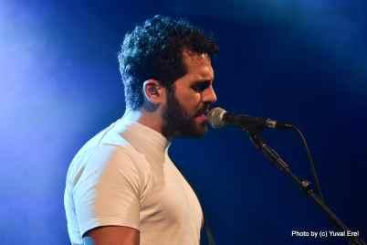 עומר נצר בזאפה תל אביב. צילום יובל אראל