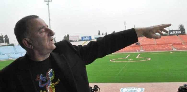 שוקי וייס באצטדיון רמת גן צילום יובל אראל