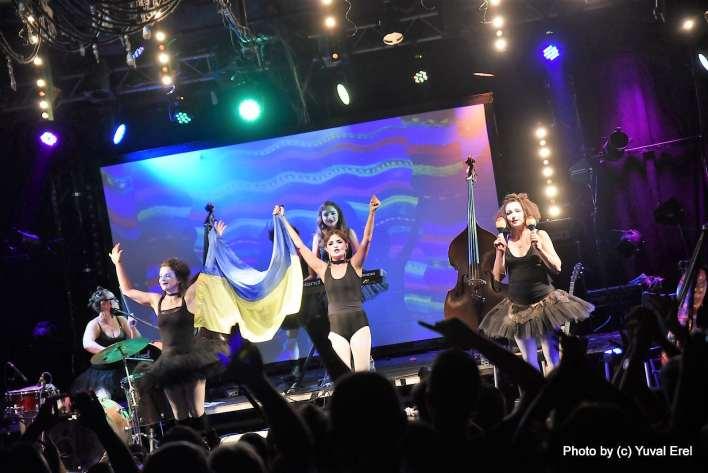 Dakh Daughters בתל אביב. צילום יובל אראל