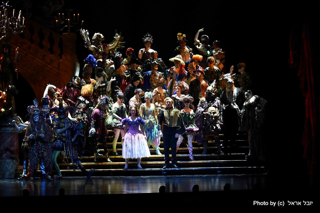 פנטום האופרה, נשף המסכות. צילום יובל אראל