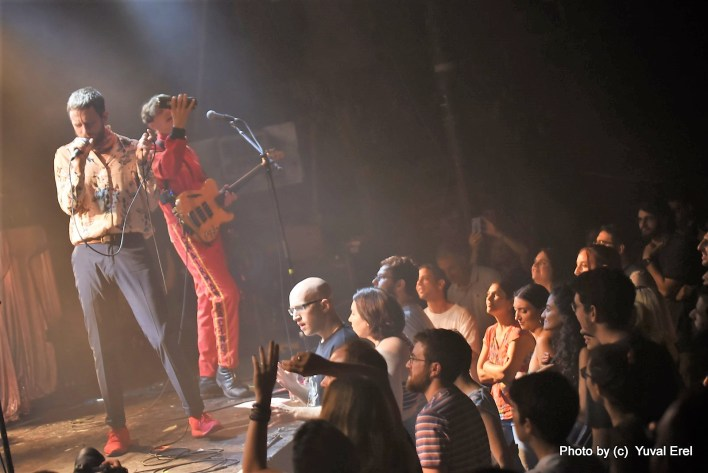 Yeasayer במועדון בארבי. צילום יובל אראל