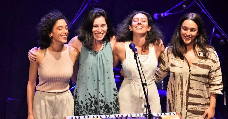 דניאל רובין והבנות, צילום יובל אראל