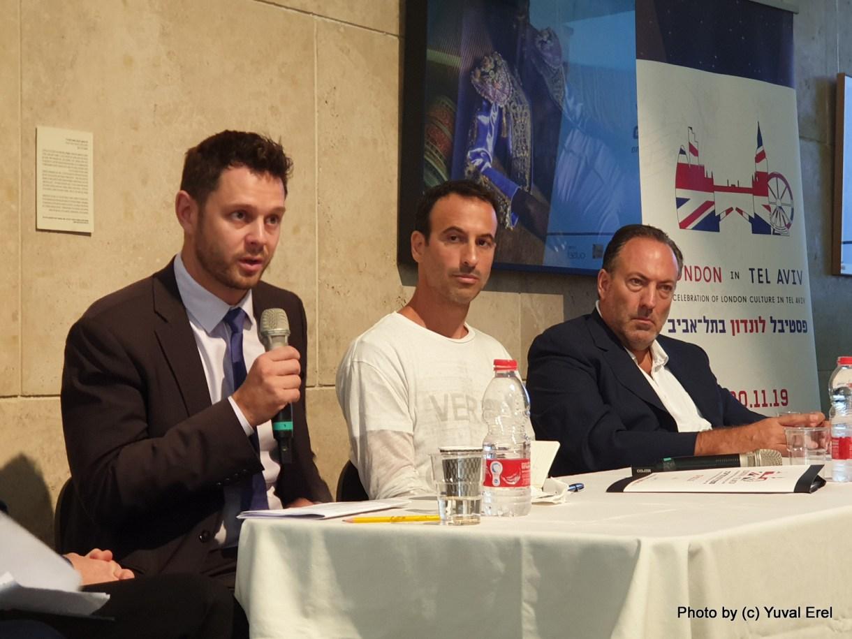 פסטיבל לונדון בתל אביב - מארק פאוור סגן הקונסול הבריטי. צילום יובל אראל