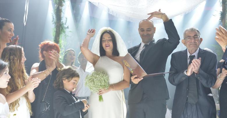 קול ששון וקול שמחה, החתונה של מאיה בוסקילה. צילום תמיר ברגיג - ArTamir