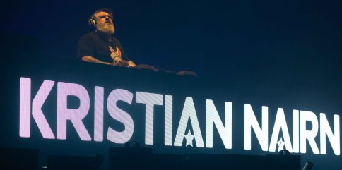 כריסטיאן ניירן בתל אביב. צילום טוני פיין