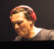 Tiesto in Tel Aviv/ pic by Tony Fyne