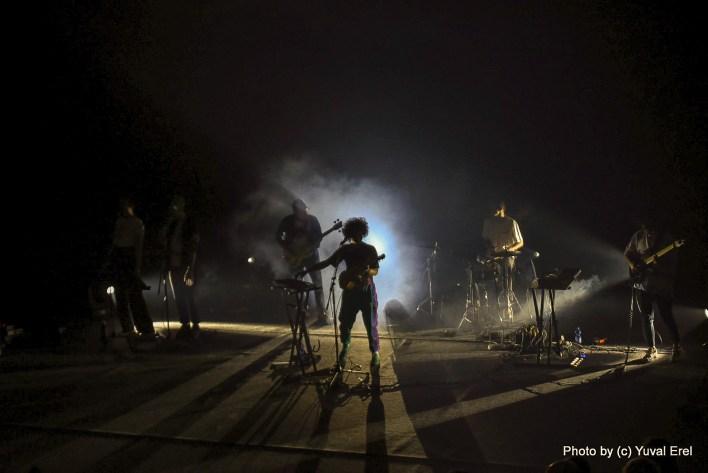 מיקה שדה, השקת אלבום. צילום יובל אראל