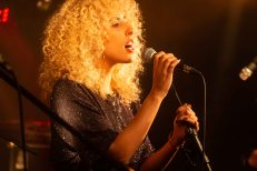 המופע של נעמה תמרי. צילום טוני פיין