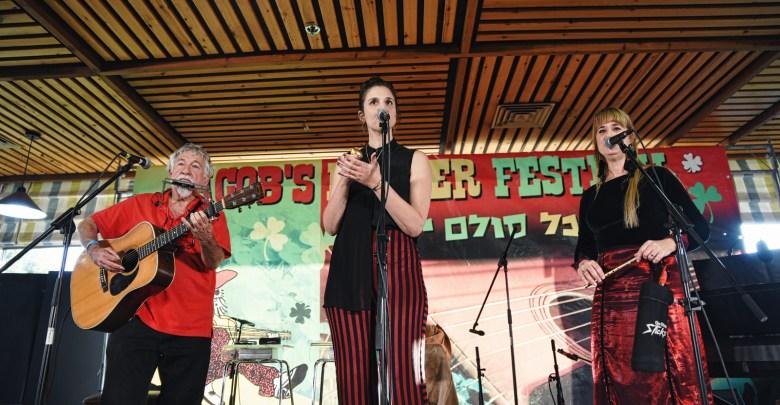 גבריאלה, מיה ושי, פסטיבל סולם יעקב. צילום תומר שיינפלד