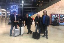 Photo of חברי להקת Smokie נחתו בישראל לקראת המופע מחר