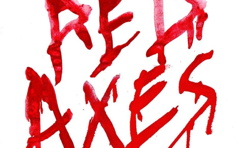 Red Axes Cover Typography by Yaniv Sharon