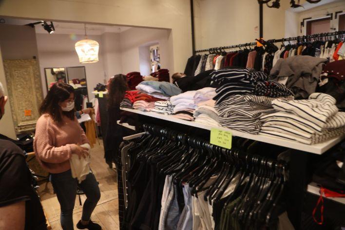 השקת חנות אופנה למען אנשי תעשיית תרבות. צילום מוטי קמחי