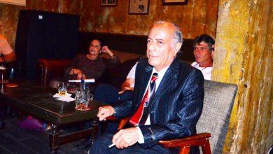 המשורר והפייטן אהרון עמרם. צילום יובל אראל