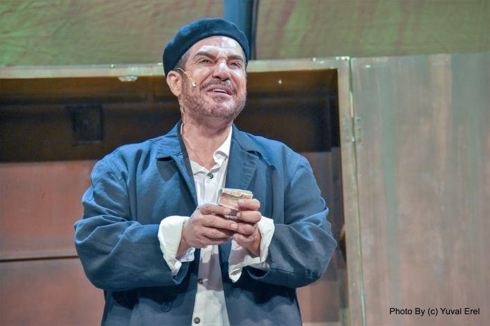 איציק כהן בתפקיד סאלח שבתי. צילום יובל אראל