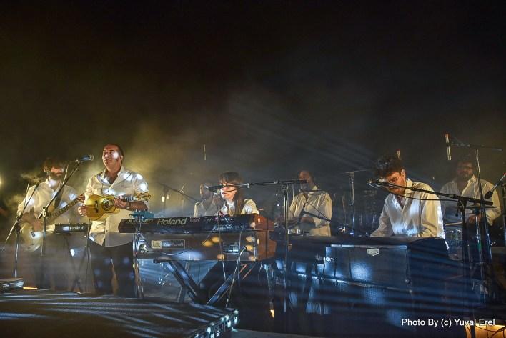 הנגנים של אמדורסקי. צילום יובל אראל